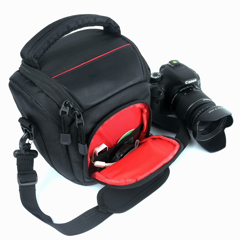 Waterproof DSLR Camera Bag Case For Nikon Bag Canon EOS R 4000D 800D 77D 80D 1300D 1200D 760D 750D 700D 600D 60D 70D 100D 200D