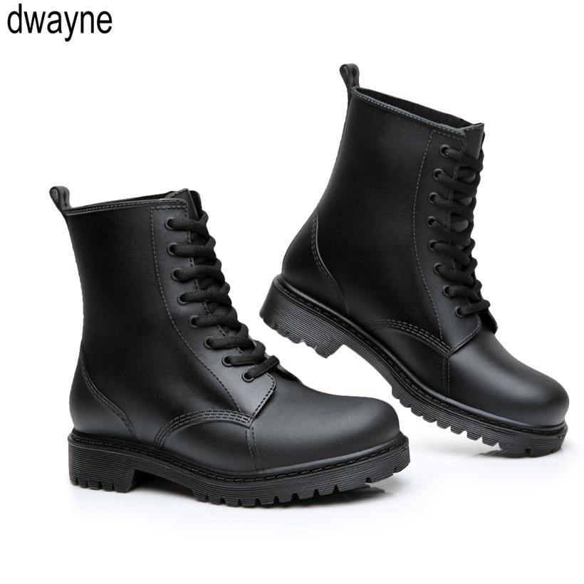 Short Rain Boots Men's Non-slip Waterproof Shoes Rubber Shoes Fashion Zapatos De Hombre Men Boots Fgb89