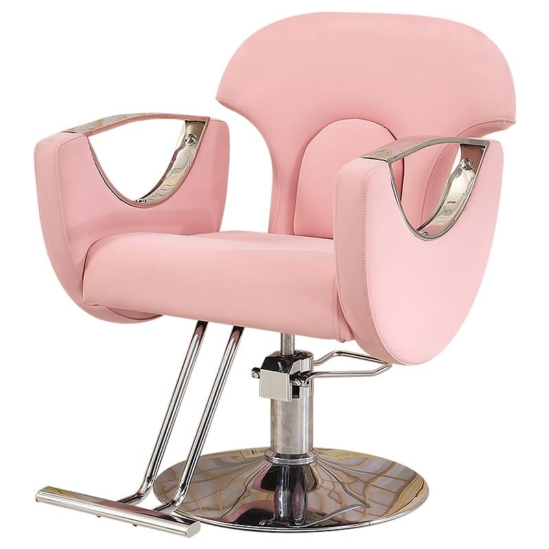 Hairdressing Shop Chair Hair Salon Special Hairdresser Chair Haircut Chair Barber Shop Put Down Chair Hairdresser Chair