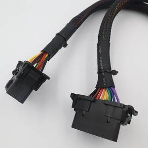Image 5 - Finetrip 30Cm 2 In 1 OBD2 Verlengkabel Obdii Male Naar 2 Vrouwelijke Splitter Auto Computer Verbinding Conversie Plug voor Elm327