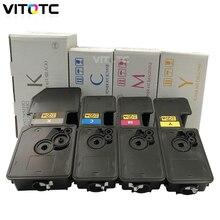4 Colored TK 5230 TK5230 Refillable Toner Cartridge For KYOCERA Ecosys M5521cdw M5521cdn P5021cdw P5021cdn M5521 P5021 printer