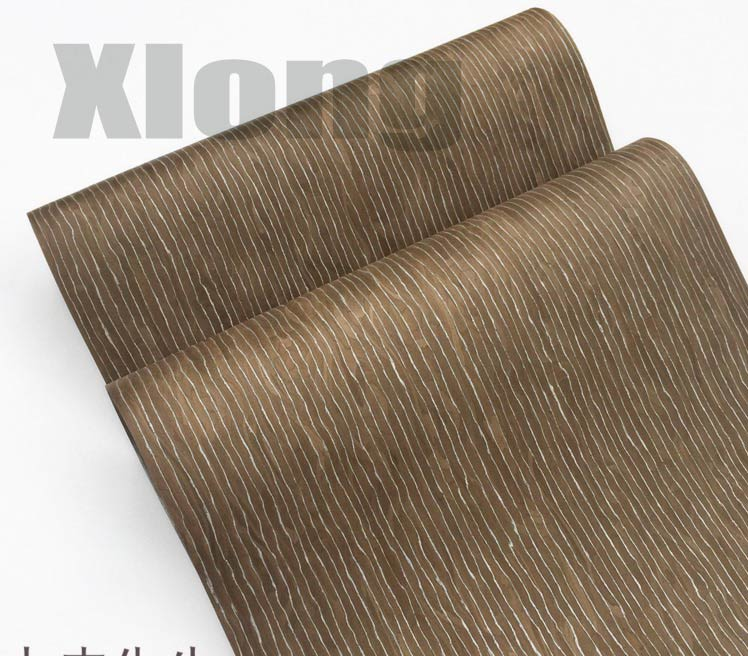 1Pieces Length: 2.5Meters Thickness:0.3mm Width: 55cm Technology Silver Emperor Dragon 950N Wood Veneer Stripes