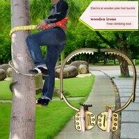 Climbing irons climbing tool pole climbing irons GB electrical irons iron shoes foot wooden wood grilled Telecom