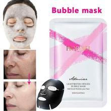 Bubble Face Mask Bamboo Charcoal Sheet Mask Detox Mask Moisturizing Tender Skin Care Korean Facial Mask Makeup masque