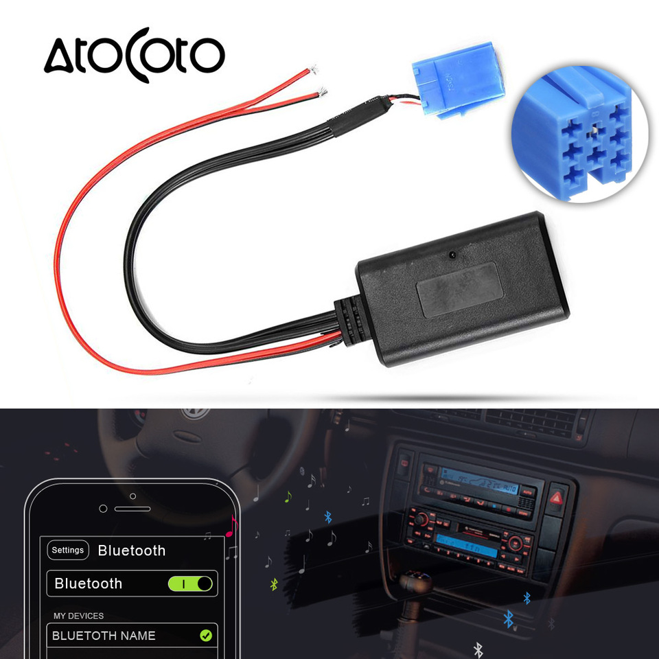 Para AUDI Chorus Concert 1 2 II iPhone 4 5 6 Bluetooth Interface Lightning 8-pin