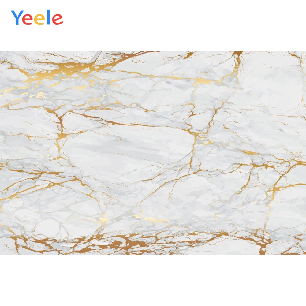 Grey Marble Self Portrait Wedding Baby Photography Backgrounds Customized Photographic Backdrops for Photo Studio