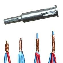 Elektrikçi genel otomatik tel striptizci ve bükülmüş tel aracı hızlı otomatik Stripper hattı kablo soyma büküm bağlantı