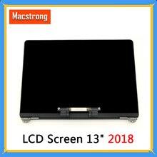"""חדש לגמרי A1932 LCD מסך ל macbook Air 13.3 """"A1932 מלא תצוגת מסך Emc 3184 MRE82 2018 אפור/כסף/זהב"""
