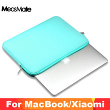 Funda suave para portátil para Macbook Air 11 12 13 14 15 15,6 Pro Retina 11,6 13,3 pulgadas cremallera funda para Mac Book Pro 13(China)