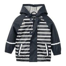 Crianças jaquetas meninos meninas miúdo casaco à prova dwaterproof água ao ar livre com capuz casaco de chuva à prova dwaterproof água crianças jaqueta nova