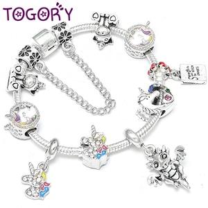 TOGORY Lovely Unicorn Crystal