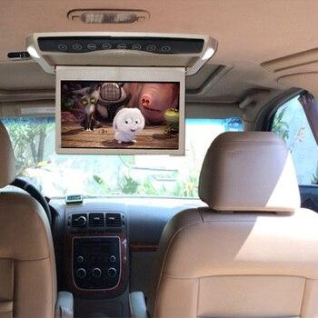 10.1 بوصة رصد سيارة سقف سقف رقيقة جدا جبل LCD TFT الوجه أسفل MP5 لاعب HD 1080P الفيديو / USB / SD / وزير الخارجية الارسال / رئيس 2
