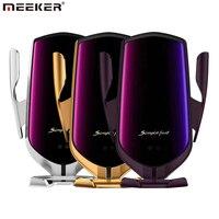 Meeker R2 Qi 자동차 무선 충전기 적외선 공기 환기 자동차 전화 홀더 아이폰에 대 한 마운트 삼성 샤오미 화웨이 휴대 전화 홀더