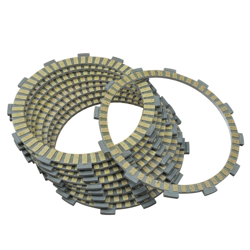 9pc Motorcycle Friction Clutch Plates For GSF1250 GSX1250 Bandit GSX1250FA GSF1250SA Traveller Motorbike Engine PartS