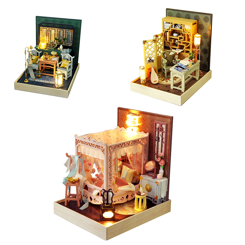 Mystic Dream Series DIY 3D Miniature Room