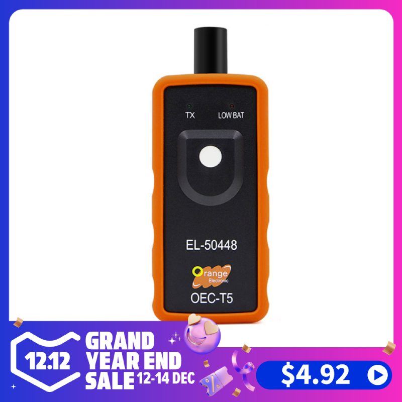 Compatiblity El-50448 Tpms Activation Tool Oec-T5 Suitable For Universal Buick Tire Pressure Resetter