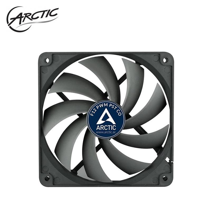 ARCTIC F12 PWM PST CO, Computer Case 12CM Fan 4PIN PWM DC 12V Control 120MM Cooler Master Dual Ball Bearing