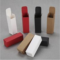 100pcs Red White Black Kraft Paper Lipstick Essential oil Box Dropper Bottle Cosmetics Gift paper Box Mini Cardboard Boxes