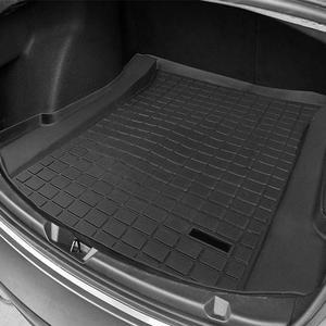 Image 5 - Maty do bagażnika dostosowany bagażnik tylny samochodu mata bagażnika bagażnika wodoodporny ochronny klocki Mat kompatybilny dla Tesla Model 3