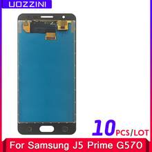 10 Pcs/Lot For Samsung Galaxy J5 Prime G570 G570F G570K G570L Super AMOLED LCD Display Touch Screen Digitizer Assembly