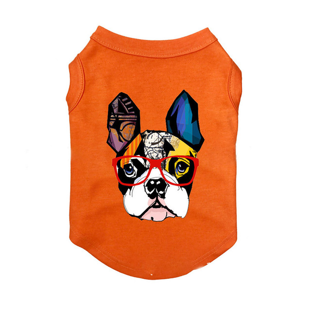 Clothing Summer Dog Vest with Animation Heroes  My Pet World Store