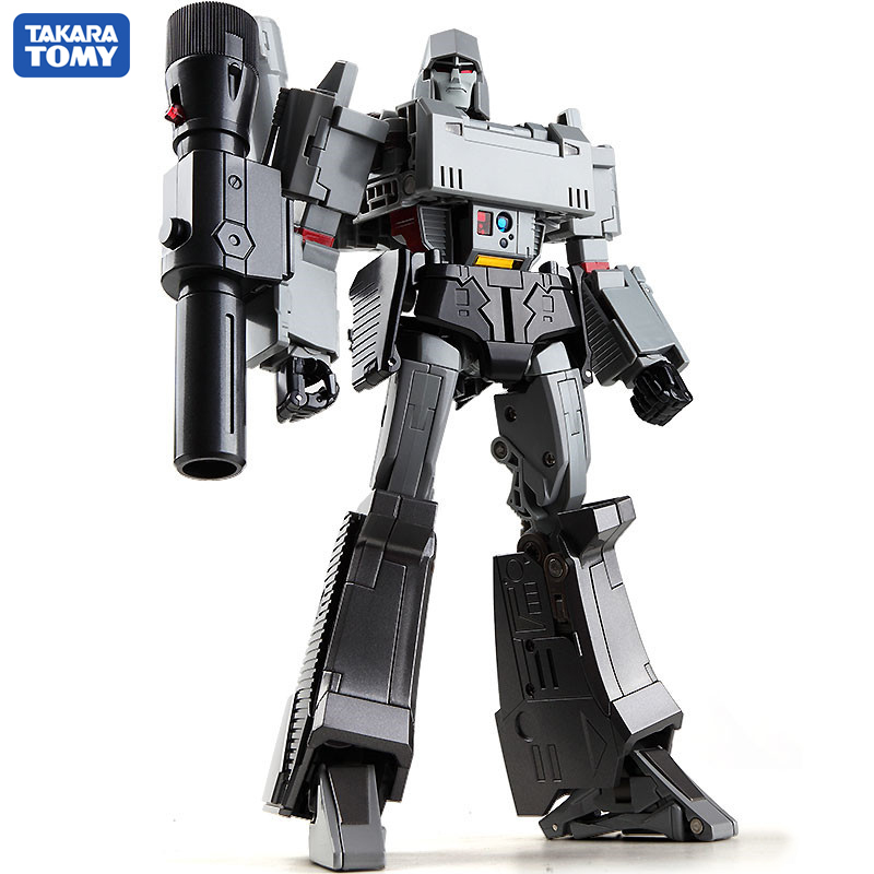 TAKARA TOMY Transformation MP36 CAR Metal Part 36CM Megatron Autobots Action Figure Deformation Robot Children Gift Toys