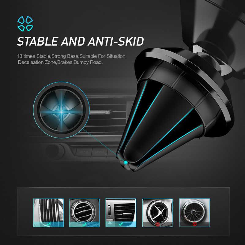Soporte magnético Universal para teléfono para Samsung A50 soporte magnético para teléfono móvil en coche 360 soporte Rotable soporte para teléfono para coche