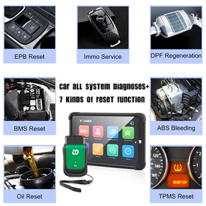 "Image 2 - 2021 OBD 2 XTUNER E3 V9.5 Tablet Wifi OBD2 Car Diagnostics Auto Scanner + 8"" Win10 System Automotive Scanner ODB2 Autoscanner"