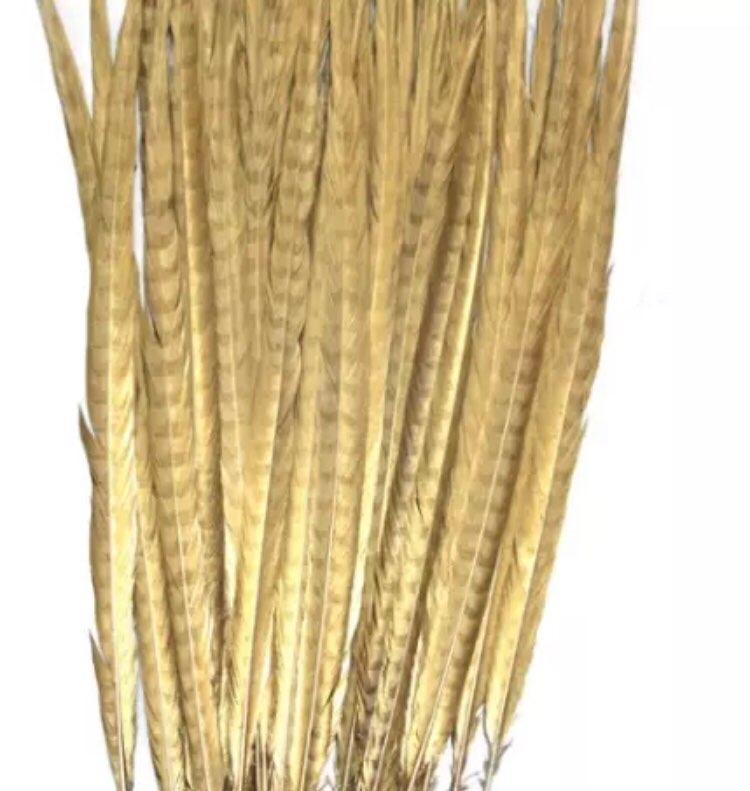 Proizvajalci brezplačno prodajo 200pcs 50-55cm 20-22inch zlato barva - Umetnost, obrt in šivanje