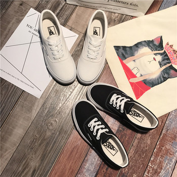 Unisex Sneakers Men Canvas Shoes Low-top Lace-up High Quality Fashion Vulcanize Trainers Classics Espadrilles Male Casual Shoes wen hand painted unisex casual shoes custom design borderlands women men s high top canvas sneakers christmas birthday gifts page 2
