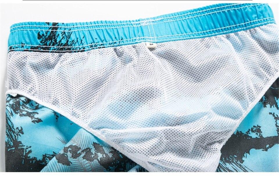para homens calções de banho mais tamanho praia wear M-3XL