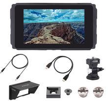 Fotga – moniteur de champ de caméra tactile C50 5 pouces 3G SDI 3D-LUT HD IPS 2000nit