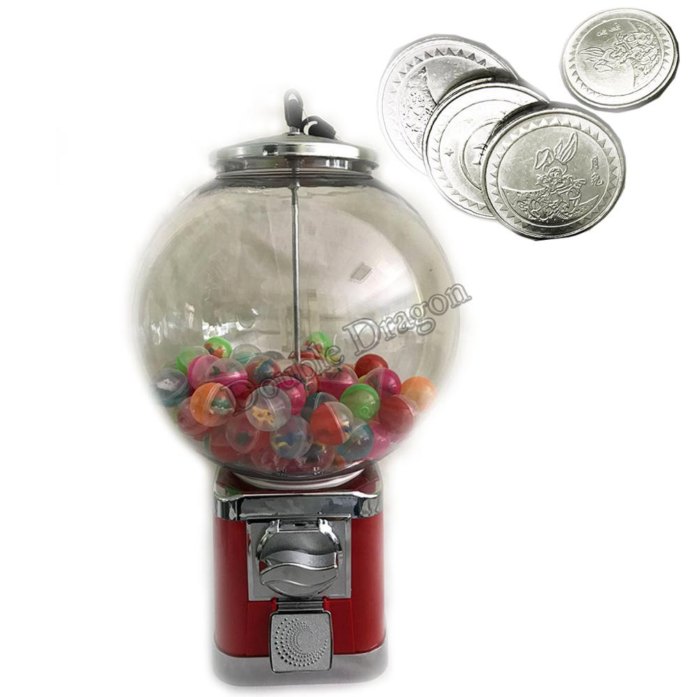 High Quality Capsule Vending Cabinet Coin Operated Tabletop Ball Vending Machine Toy Candy Penny-in-the-slot Coin Vendor