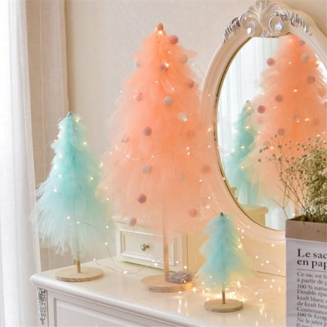 Pink Christmas Tree Ornaments