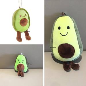 Плюшевая игрушка в виде фруктов, 3 размера, 9 см, 12 см и 14 см, брелок для ключей в подарок, мягкая плюшевая кукла, игрушка
