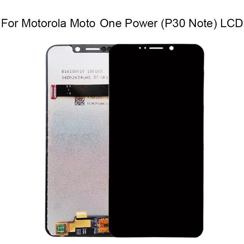 6.2'' For Moto OnePower <font><b>P30</b></font> <font><b>LCD</b></font> Screen Display Touch Digitizer Screen Replacement For Motorola One Power Display note <font><b>lcd</b></font> image
