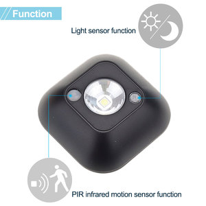 Image 4 - Lampe décorative à infrarouge PIR (veilleuse LED sans fil), lampe décorative pour une chambre à coucher, idéal pour une chambre à coucher, un meuble ou des escaliers
