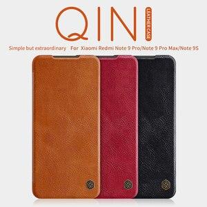 Image 2 - Funda con tapa para Xiaomi Redmi Note 9 /9 Pro, NILLKIN QIN Series, Funda de cuero con tapa para Redmi Note 9 Pro max