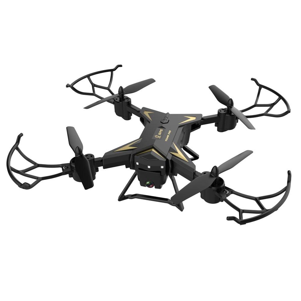 Dual GPS 6 Eje Giroscopio Calibraci/ón 1 Bater/ía Negro WiFi M/óvil Control 4K C/ámara Dron KY601G Cuadric/óptero RC con Luz LED Inteligente SIGA RC Drones Kit