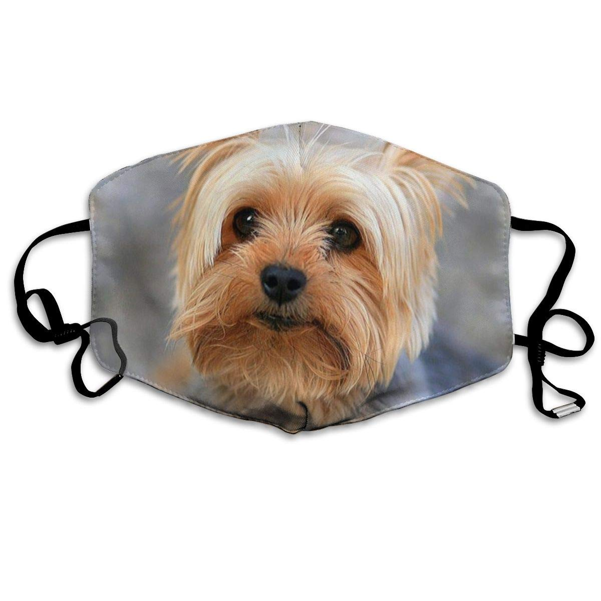 Fashion Unisex Anti-Dust Half Face Mouth Mask Cutest Yorkies