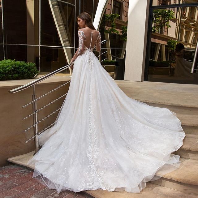 Robe de Mariée Claudia Bohème Romantique