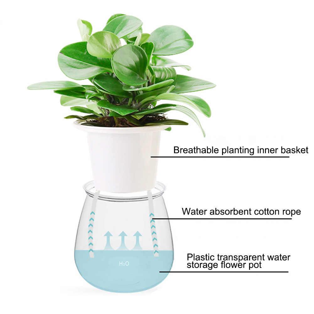 Automatico Auto Impianto di Innaffiamento Vaso di Fiori Contenitore di Acqua Mettere in Piano di Irrigazione per Il Giardino Decorazione Della Casa Coperta Giardinaggio Flo