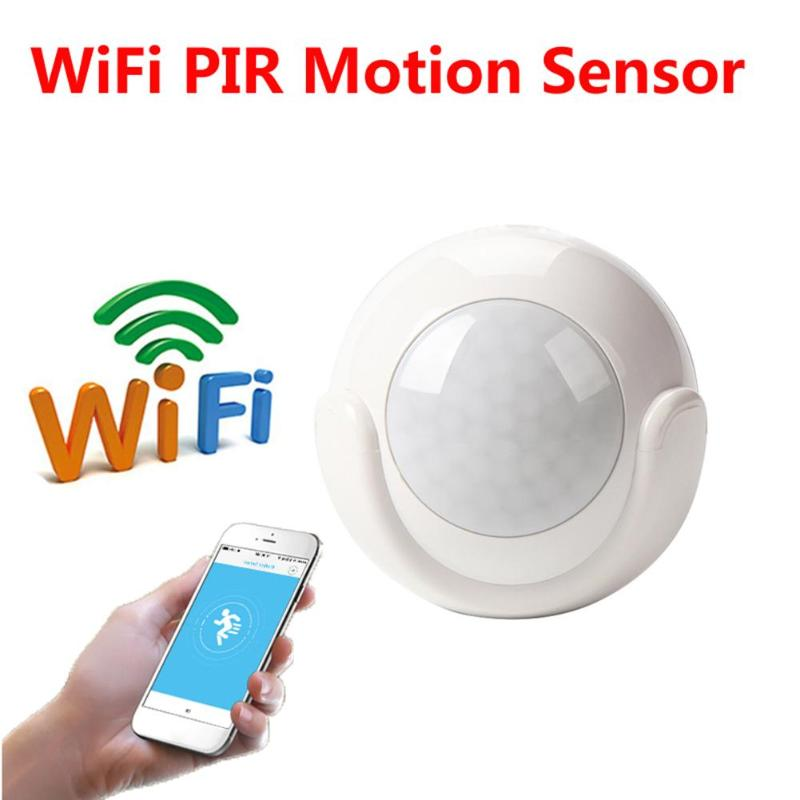 Sensitive Human Body Sensors Smart APP Voice Control Wireless Passive Infrared Detector Home Security Burglar Alarm