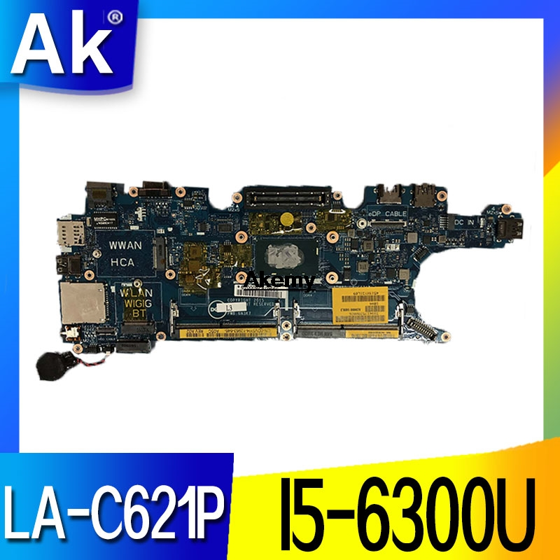Scheda Madre CN 0DV5YH For Dell Latitude E5270 Laptop Motherboard I5 6300U 2.40 GHz DV5YH 0DV5YH LA C621P|Motherboards| |  - title=