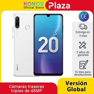 New Global Version Honor 20S 20 S Mobile Phones 6G 128G 6.15'' Dewdrop Screen 24MP Front Cam 48MP Triple Cams Smartphone NFC