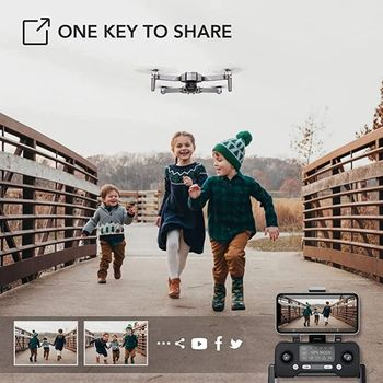 2021 NEW F11 PRO 4K GPS Drone With Wifi FPV 4K HD Camera 2-axis Anti-Shake Gimbal F11S Brushless Quadcopter Vs SG906 Pro 2 Dron 5