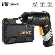 DEKO DKCS3.6O1 S1/S2/S3 tournevis électrique sans fil Impact mandrin sans clé charge batterie