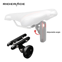 Fahrrad Rücklicht Sattel Unterstützung Sitz-beitrag Montieren MTB Radfahren Fahrrad Lampe Halterung Halter Für Garmin Varia Rück Radar / RTL510