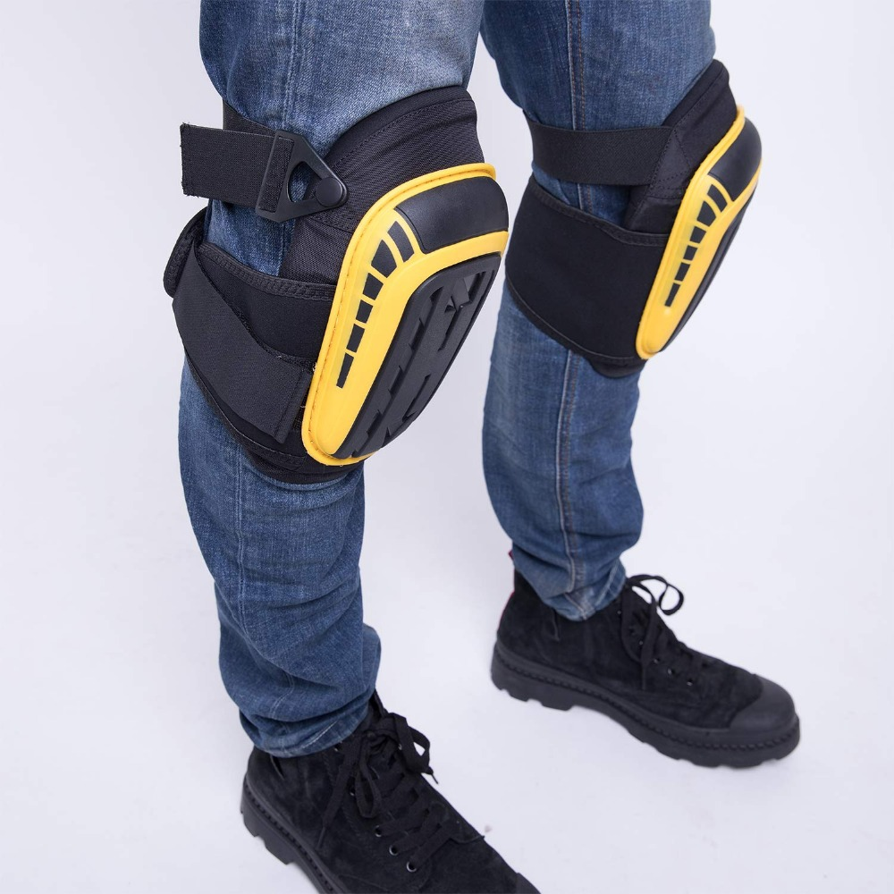Gel Knee Pads for Gardening and Sports for Professional Heavy Duty Work with High Density EVA Foam Suitable for gardening and Construction Work 9