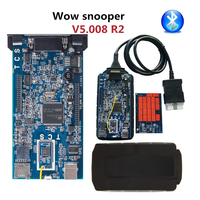 V5.008 R2 WOW Snooper with Bluetooth Keygen for Car Truck Diagnostic Tool WOW VCI Better Than TCS CDP PRO for delphi ds150e 2019
